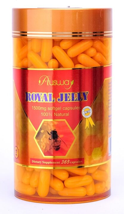 Ausway Royal Jelly 1500mg 365 Caps