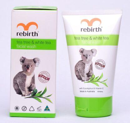Rebirth Tea Tree &White Tea Facial Wash 100ml