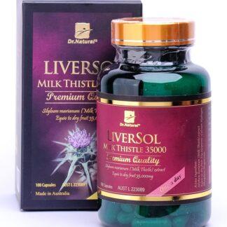 Dr. Natural Liversol Milk Thistle 100 caps