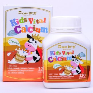 Top Life Kids Vital Calcium 120 Caps