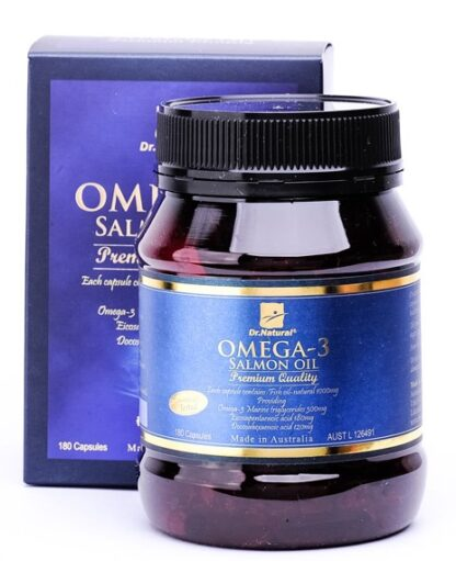 Dr. Natural Omega 3 Salmon Oil 180 caps