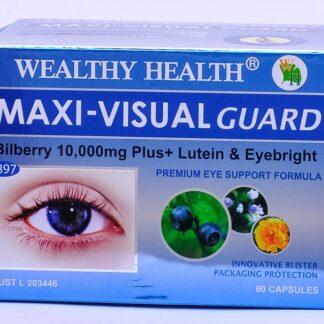 Wealthy Health Maxi Visual Guard 60 Caps