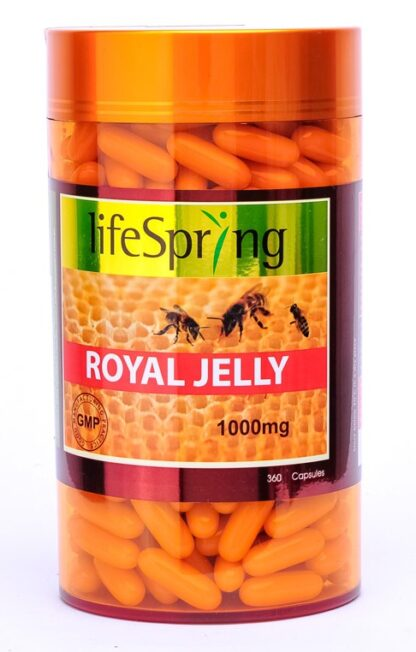 Life Spring Royal Jelly 1000mg 360 Caps