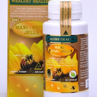 Wealthy Health Maxi Royal Jelly 120 Caps